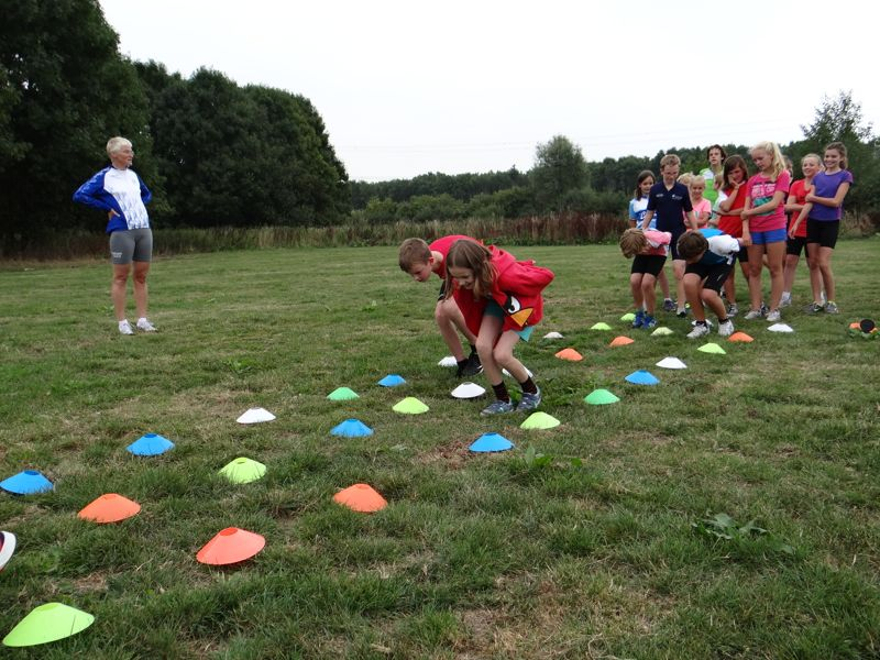 Langebaan jeugd Mini trainingskamp