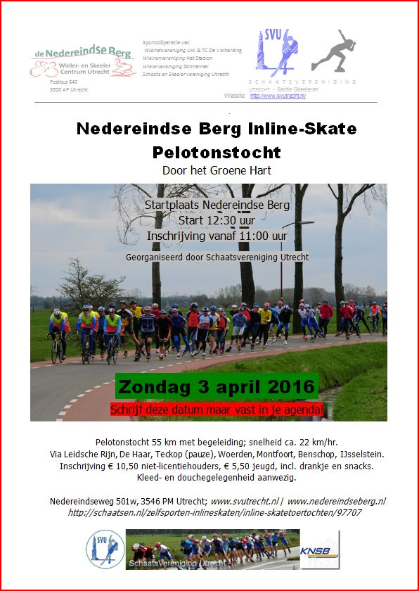 Flyer skeelertocht 2016